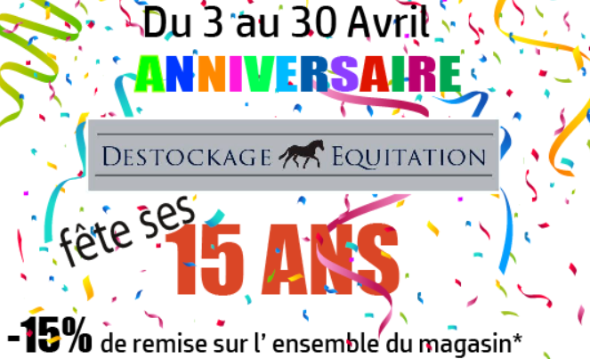 anniv destockage equitation