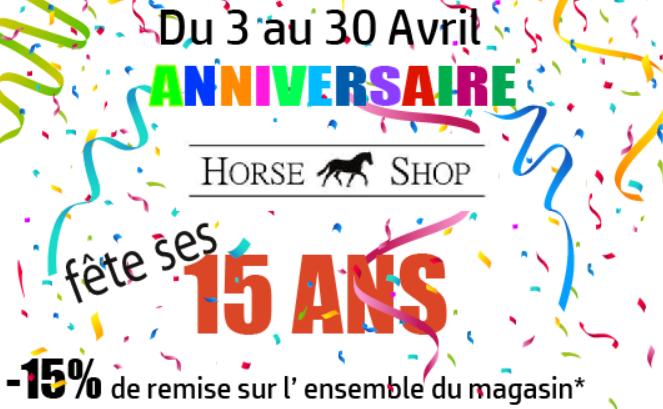 anniversaire horse shop